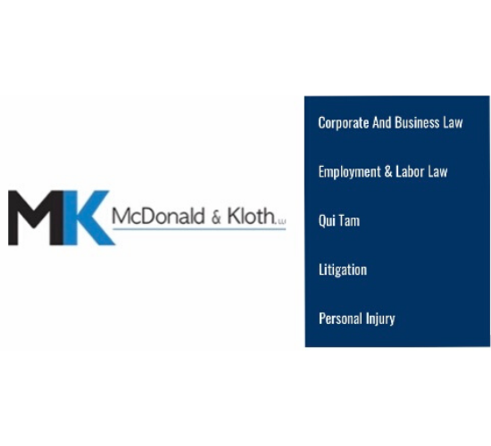 McDonald & Kloth, LLC Logo