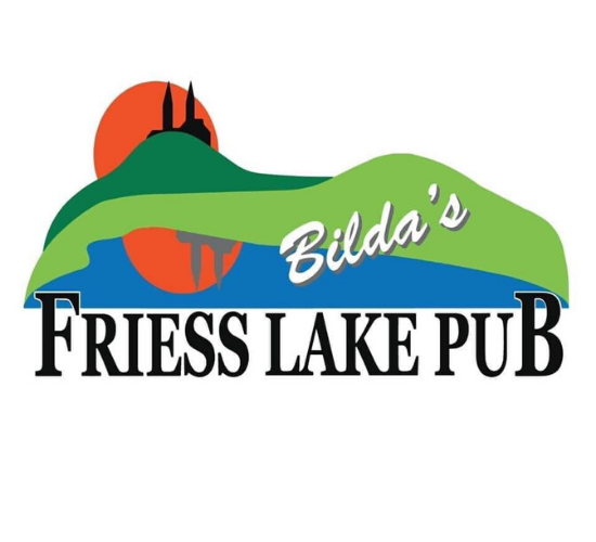 Bilda's Friess Lake Pub Logo
